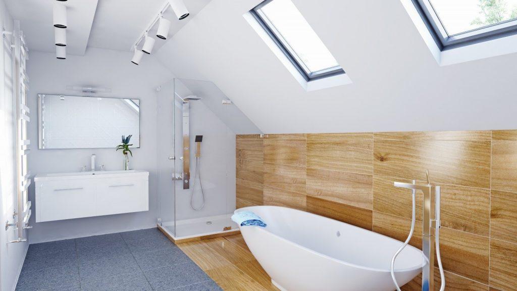 skandynawski styl łazienki